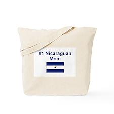 Nicaraguan #1 Mom Tote Bag