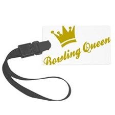 Bowling Queen Luggage Tag