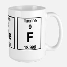 Chef Element Symbols Mug