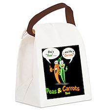 PNCB_logo_mousepad_hooked_black_b Canvas Lunch Bag