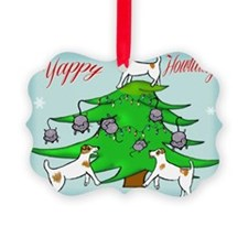 Jack Russell Terrier Christmas Ca Ornament