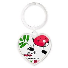 Harry the Merry Berry Heart Keychain
