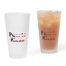 Puerto Rican Drinking Glass