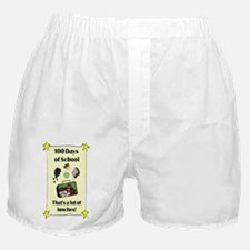 Lot of Lunches JOURNAL Boxer Shorts