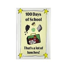 Lot of Lunches JOURNAL Rectangle Magnet