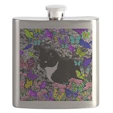Freckles in Butterflies II Flask