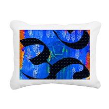 OM I Rectangular Canvas Pillow