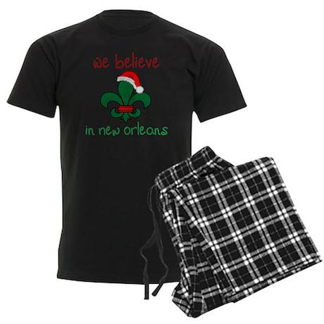 We Believe Men's Dark Pajamas