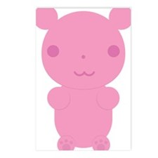Gummi Bear - Pink Postcards (Package of 8)