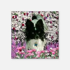 "Matisse in Flowers Square Sticker 3"" x 3"""