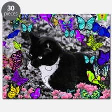 Freckles in Butterflies II Puzzle