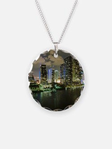 Miami @ Night Necklace