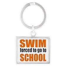 swim Landscape Keychain