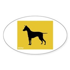 Ridgeback iPet Oval Decal