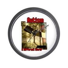 Autism A Different World Wall Clock