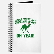 Guess What Day Christmas Is On? Journal
