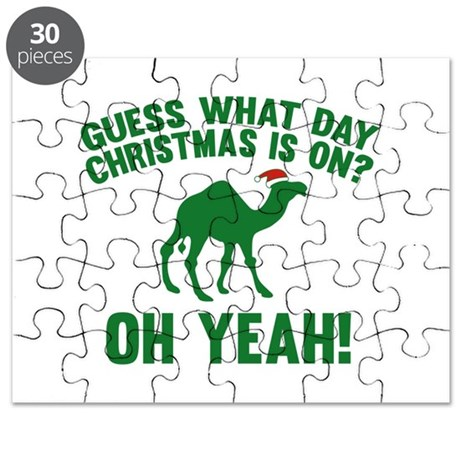 Guess What Day Christmas Is On? Puzzle