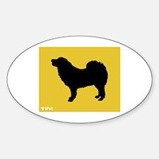 Mastiff iPet Oval Decal