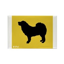 Mastiff iPet Rectangle Magnet (100 pack)