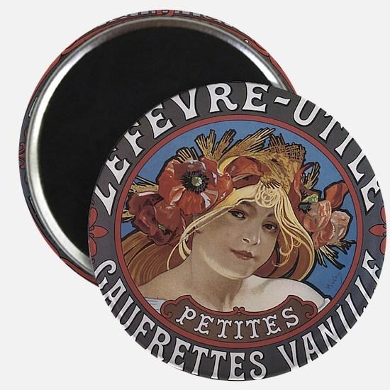 LU Vanilla Biscuits Magnet
