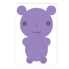 Gummi Bear - Purple Postcards (Package of 8)