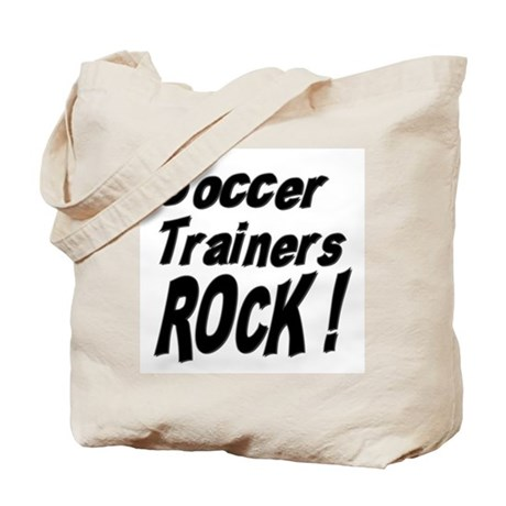 Soccer Trainers Rock ! Tote Bag