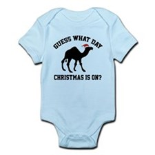 Guess What Day Christmas Is On? Infant Bodysuit
