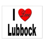 I Love Lubbock Small Poster