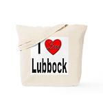 I Love Lubbock Tote Bag