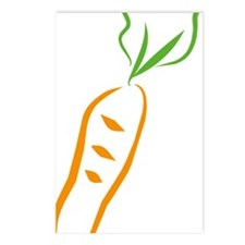 carrot Postcards (Package of 8)