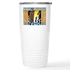 Hula Girls and Tiki God Travel Mug