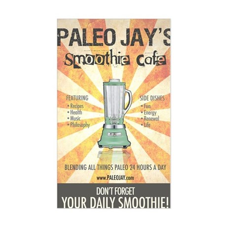 Paleo Jays Smoothie Cafe Sticker (Rectangle)