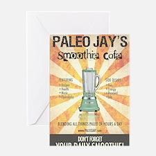 Paleo Jays Smoothie Cafe Greeting Card