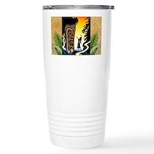 Homage to tiki Travel Mug