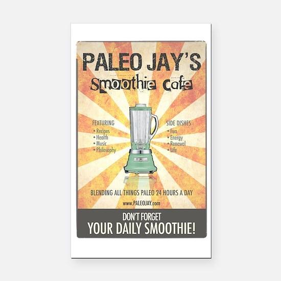 Paleo Jays Smoothie Cafe Rectangle Car Magnet