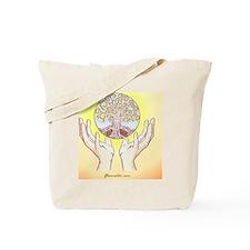 Hippie Tree of Life Tote Bag