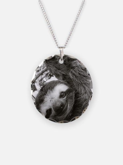 frame print Necklace Circle Charm