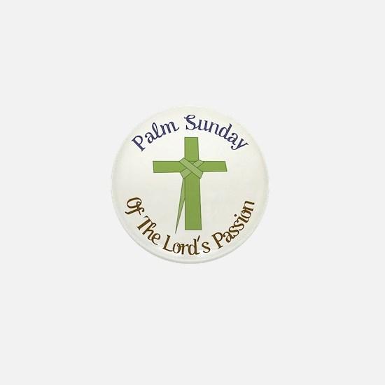 Palm Sunday Mini Button