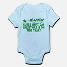 Guess What Day Christmas Is On This Year? Infant B