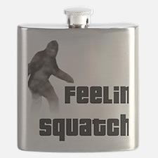 Feeling Squatchy Flask