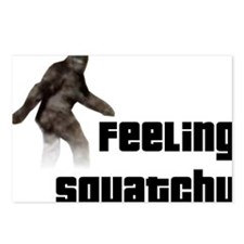 Feeling Squatchy Postcards (Package of 8)