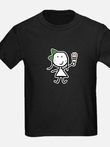 Girl & Coffee T