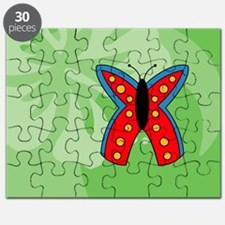 Butterfly USA Sticker Puzzle