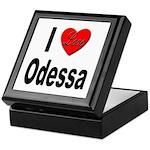 I Love Odessa Keepsake Box