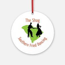 The Shag Round Ornament