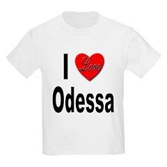 I Love Odessa (Front) T-Shirt
