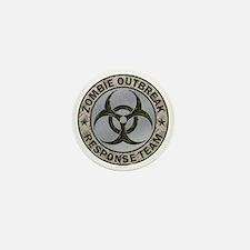 Zombie Response Team Color Mini Button