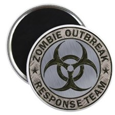 Zombie Response Team Color Magnet