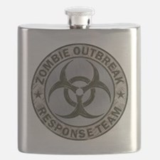 Zombie Response Team Color Flask