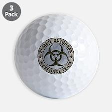 Zombie Response Team Color Golf Ball